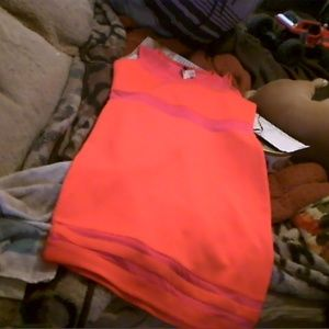 cool, Comfy and Cute Bright Orange Dress